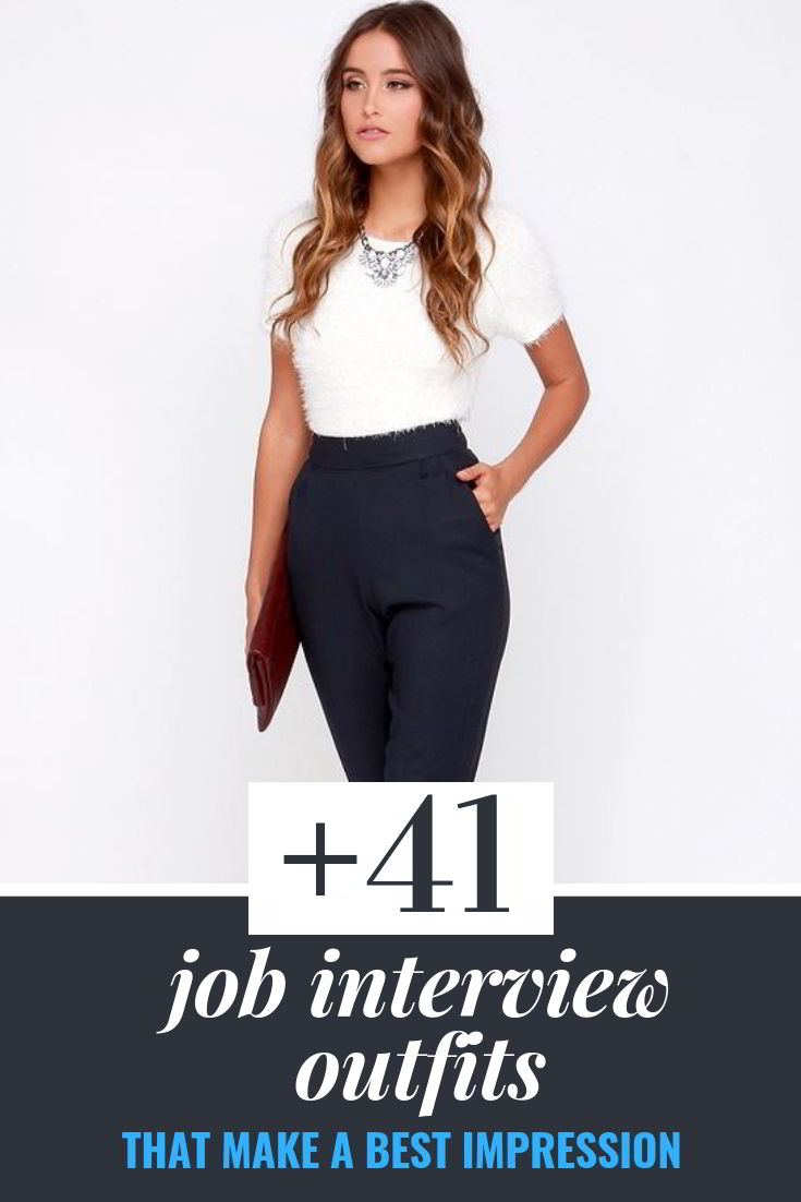 job interview outfits